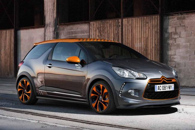 Citroen ds3 racing video et fiche technique