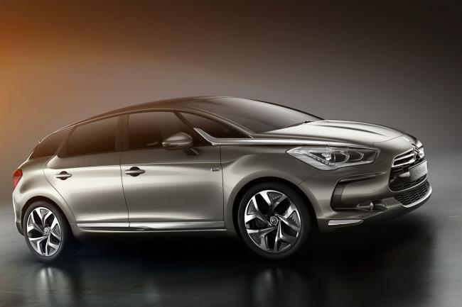 Citroen ds5 white pearl