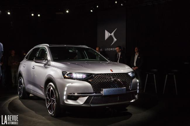 DS 7 crossback : passage réussi au crash test