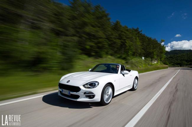 Fiat 124 spider une reduction de 5 000 euros avec vente privee