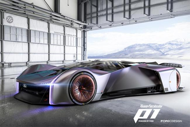 Galerie Ford P1 Concept : Ready, Player One?