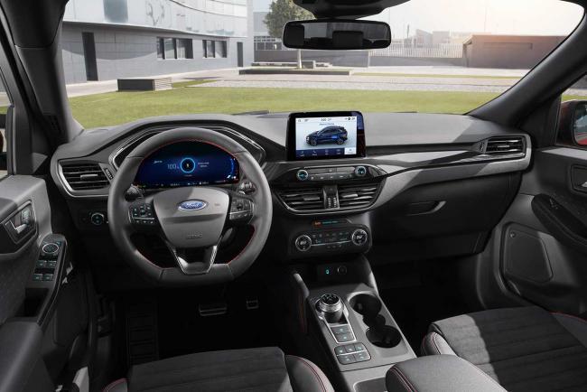 Ford Hybrid Suv >> Photo Ford Kuga Hybrid MY 2020 Interieur / Exterieur année: