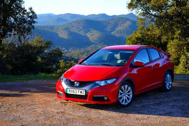 Nouvelles photos honda civic 1 6 i dtec executive navi