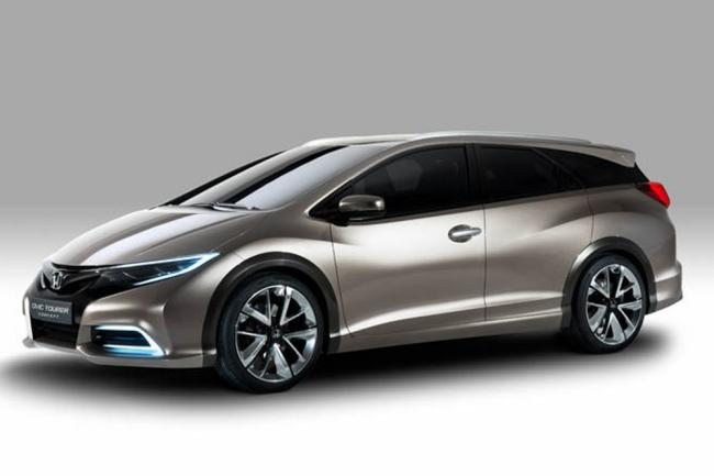 Album honda civic tourer concept