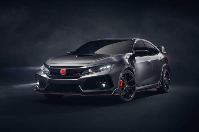 La honda civic type r definitive sera a geneve
