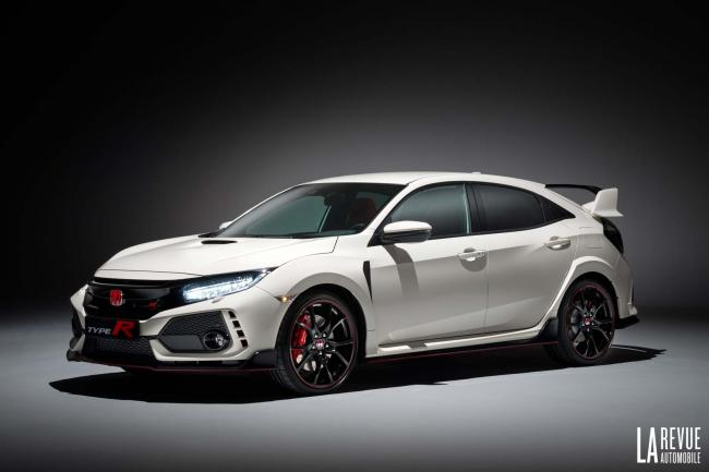 Nouvelle honda civic x type r 2017 la traction de 320 chevaux en detail