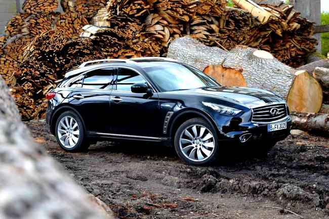 Essai Infiniti FX Black and White Edition