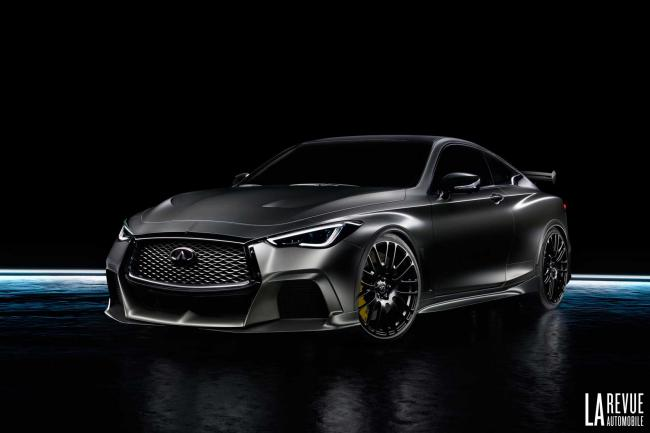 Infiniti q60 project black s vers une production en serie