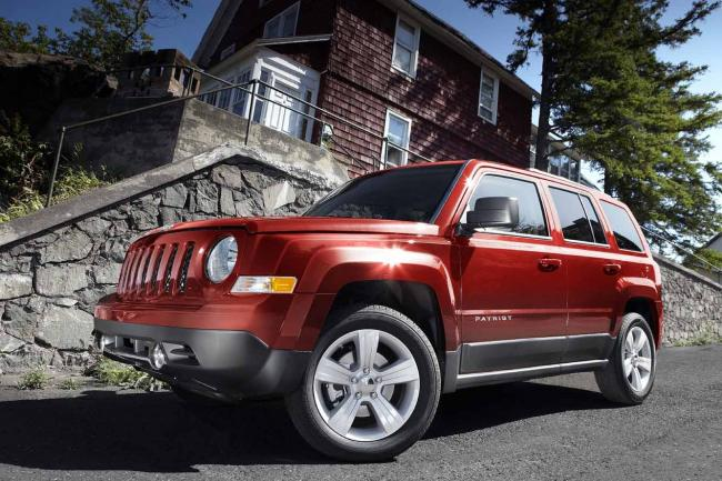 Jeep patriot le facelift