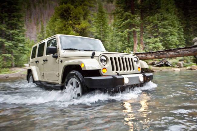 Le jeep wrangler le lifting