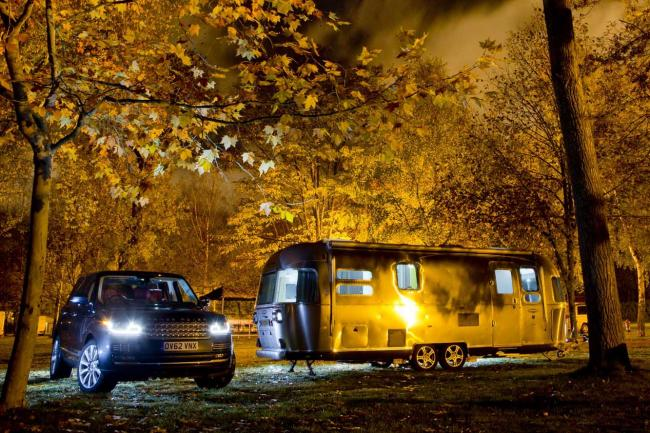 Photos land rover range airstream