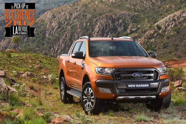 Ford ranger le pick up de reference 2017