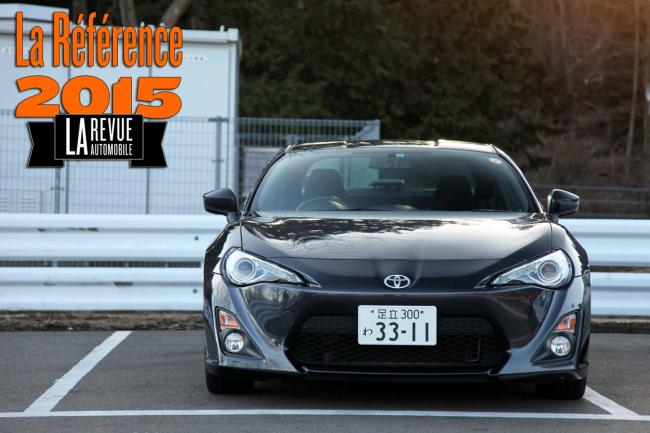 Toyota gt 86 le coupe de reference 2015
