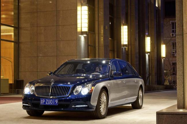 Mercedes le retour de maybach programme au salon de los angeles