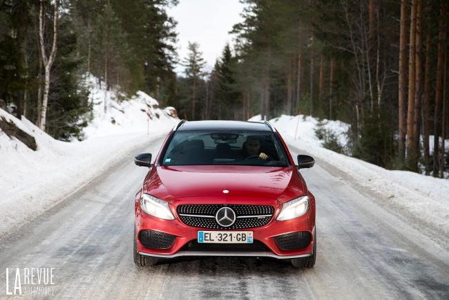 Essai Mercedes AMG C 43 Estate : le 4Matic et la tentation du grand nord