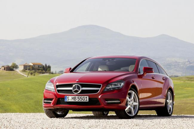 Images mercedes cls shooting brake