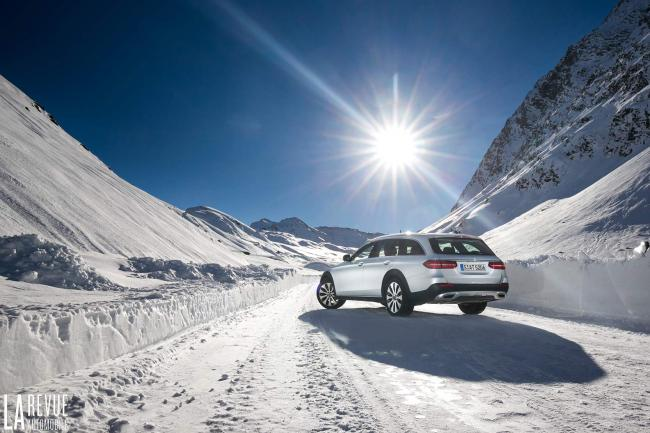 Essai mercedes e220d all terrain l alpiniste