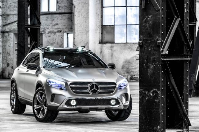 Photos mercedes gla concept