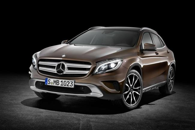 Le mercedes gla est disponible en version 180 cdi