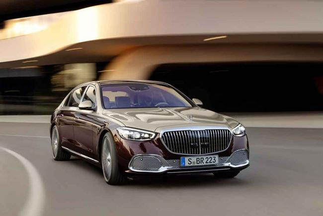 Galerie Mercedes-Maybach Classe S année 2021