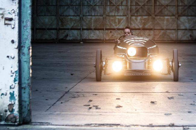 Morgan ev3 une three wheeler electrique
