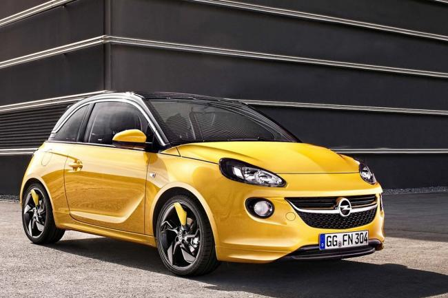 Les premieres photos de l opel adam