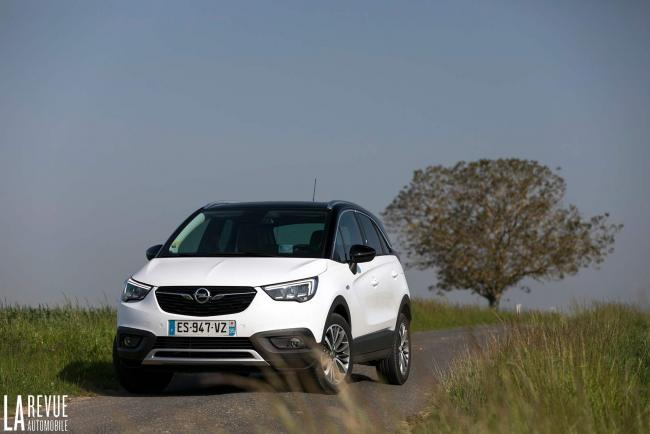 Essai Opel Crossland X turbo d 120 : apprentissage de la patience