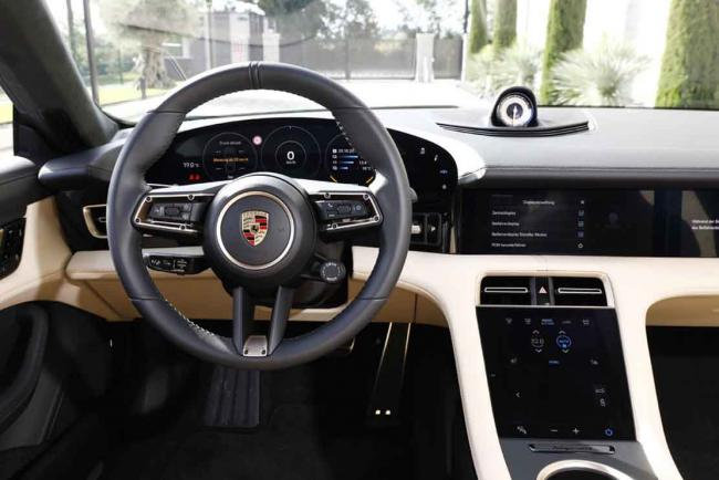 Essai Porsche Taycan Turbo S : la force du, point, G !
