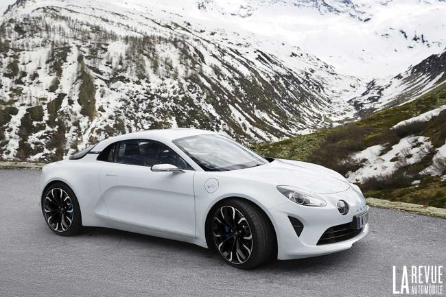 Nouvelle alpine as 110 enfin prete