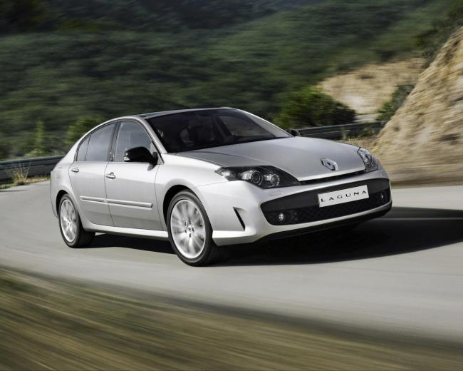 Renault laguna gt 4 roues directrices