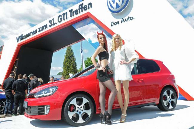Nouvelles photos sexy gti meeting worthersee