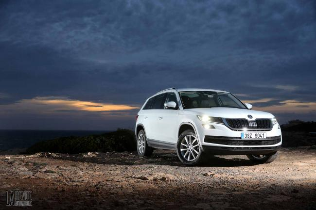 Essai skoda kodiaq 2 0 tdi le gros et paisible ours tcheque
