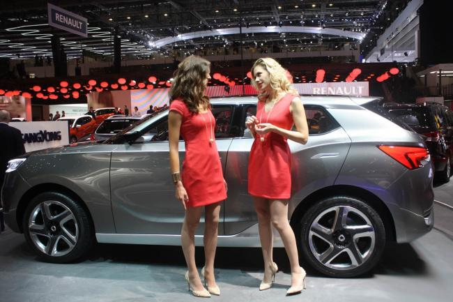 Galerie ssangyong siv 1 concept