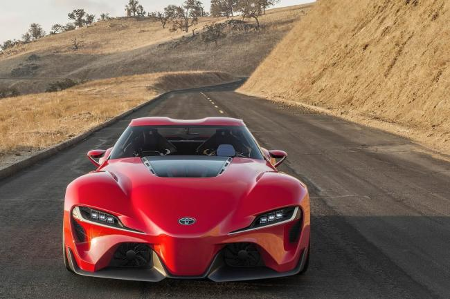 Toyota ft 1 le reve virtuel