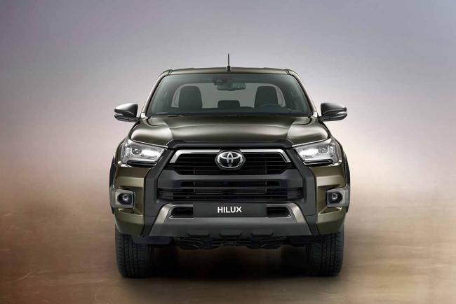 Galerie Toyota Hilux Invincible : le nouveau Pick-Up 2020