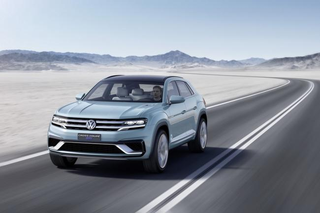 Volkswagen cross coupe gte hybride rechargeable a detroit