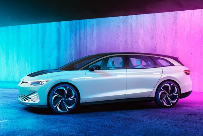 Volkswagen ID. Space Vizzion : un shooting brake électrique et sportif