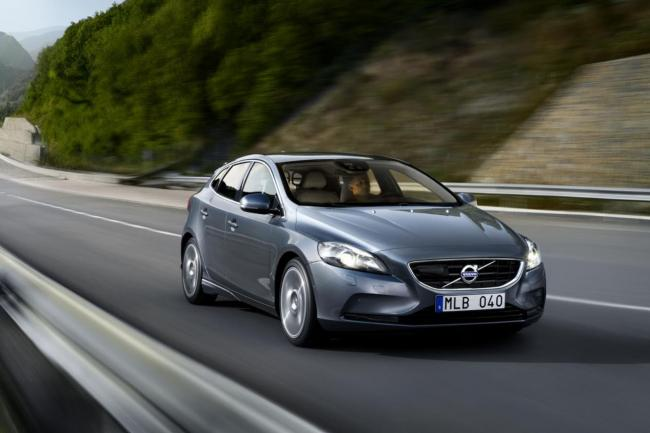 Volvo v40 la voiture la plus sure