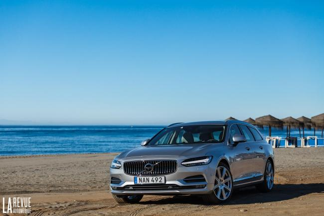 Essai volvo v90 le grand break volvo sait y faire