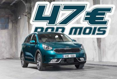 Attention affaire ! Le SUV électrique, KIA e-Niro, à 47 € par mois.