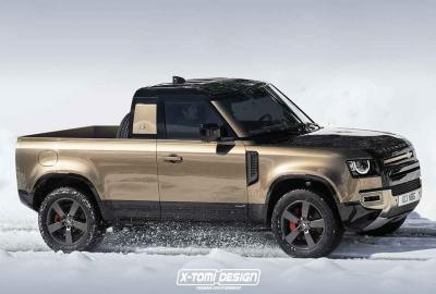 Land Rover : un Defender Pick-Up et Defender cabriolet, sympas …