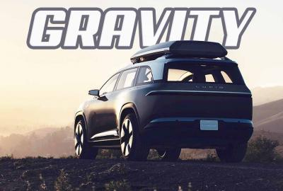 Lucid Gravity project : le SUV électrique sur base d'Air