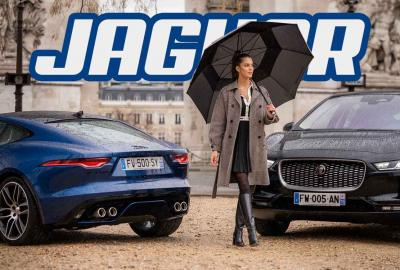 Miss Univers se transforme en PLV pour Jaguar !