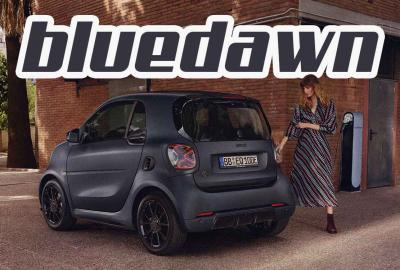 smart EQ fortwo bluedawn : du BRABUS à la sauce velvet blue