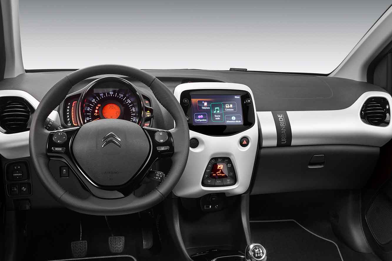 Interieur Citroen C1 Urban Ride