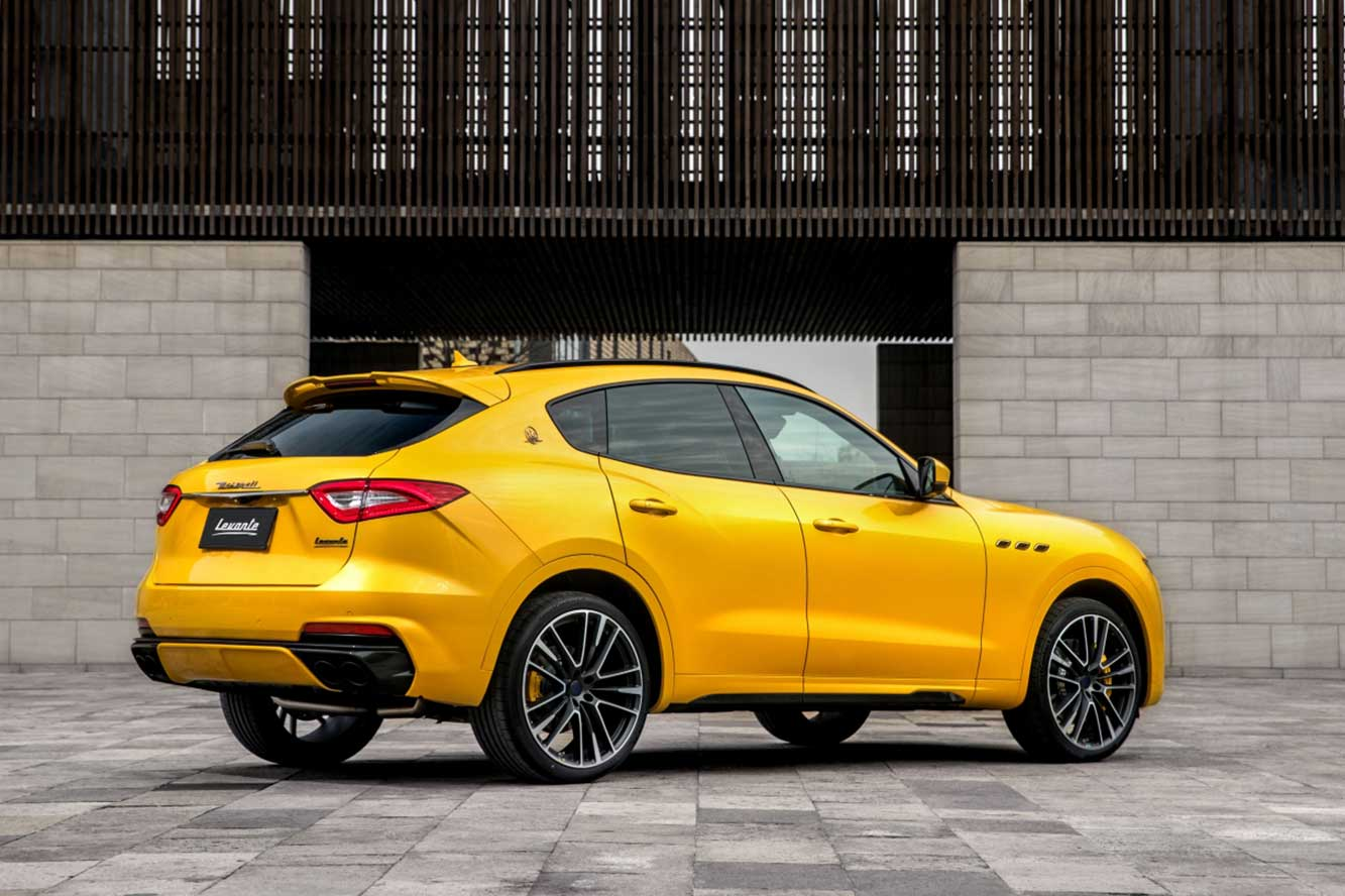 Maserati Levante GTS : force jaune !