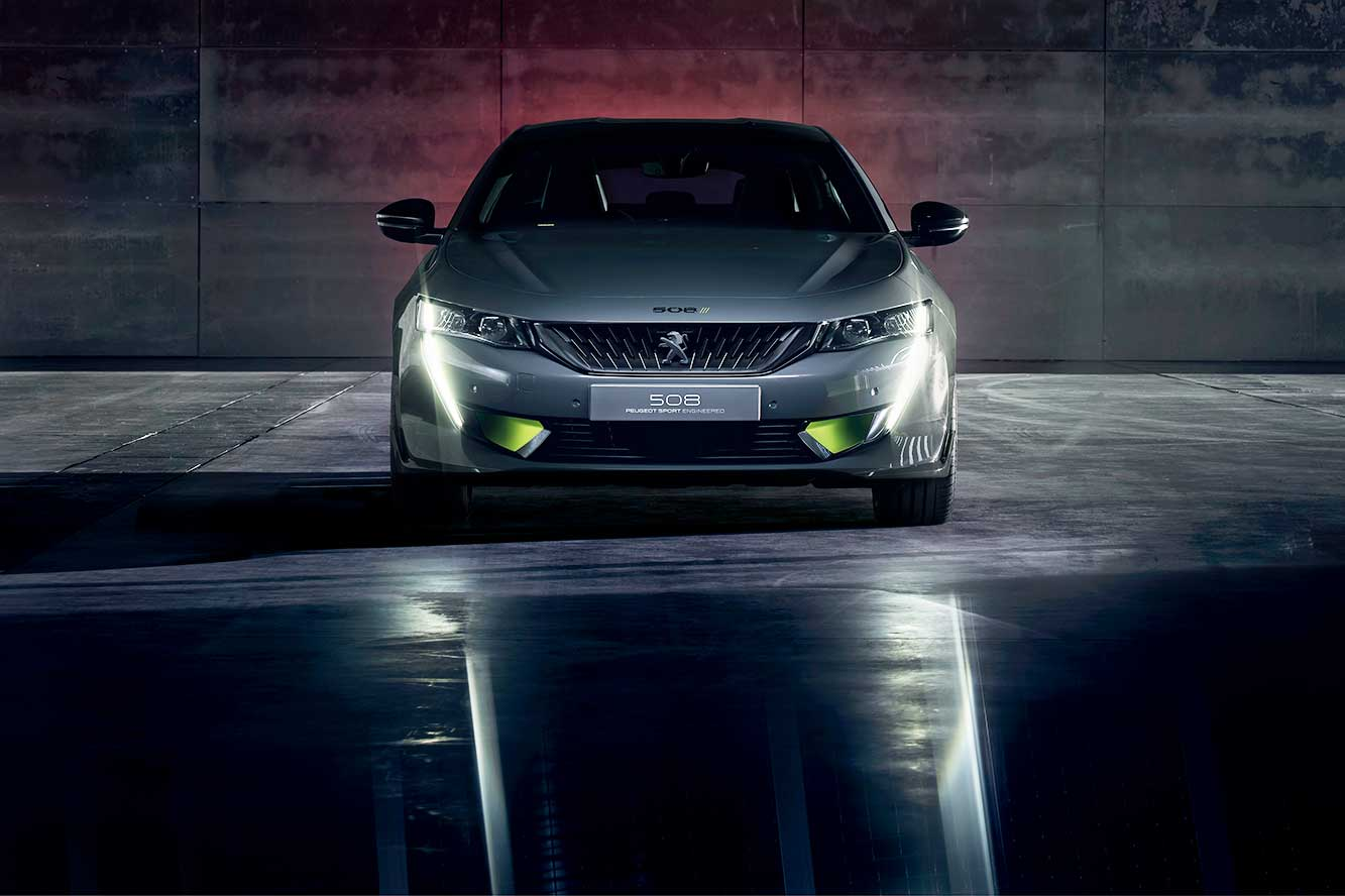 Peugeot 508 SPORT ENGINEERED : une hybride digne de 400 chevaux