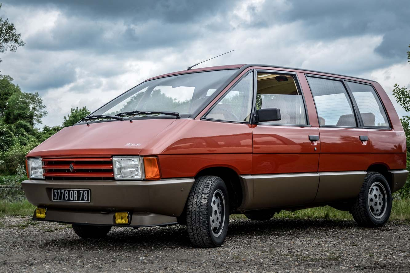 Le Renault Espace Fete Ses 30 Ans