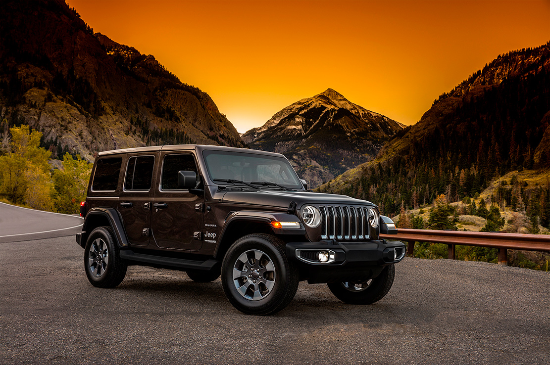 Jeep wrangler 2018 les premieres photos