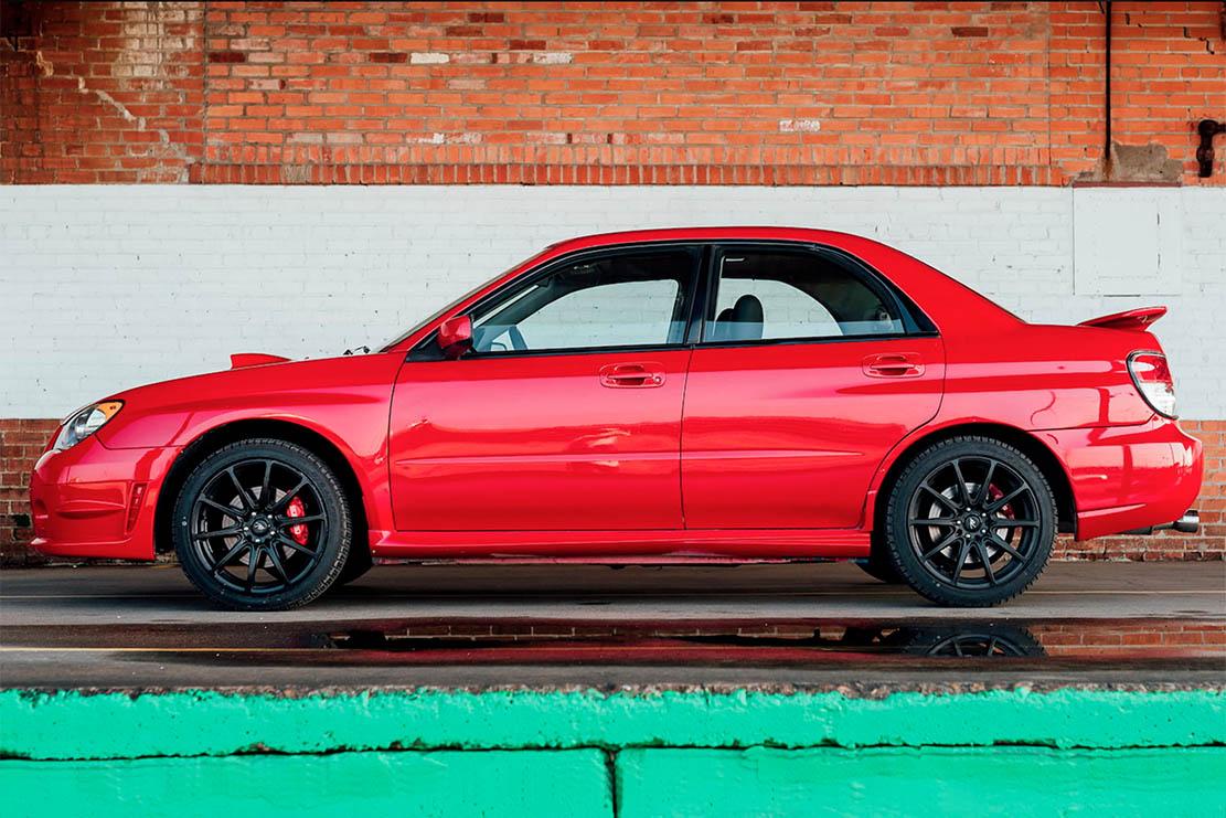 Subaru > La subaru impreza wrx du film baby driver sera